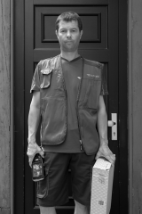 Parcel Service Driver, 2017 | People of the 21st Century