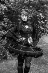 Member of the Gothic Subculture, 2015   People of the 21st Century